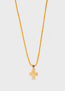Хрустальный крестик на нити Lalique Amoureuse Passion, фото