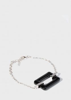 Серебряный браслет Lalique Art Deco с подвеской, фото