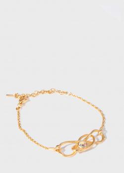 Позолоченный браслет Lalique Ramses, фото