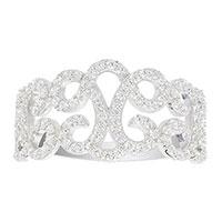 Широкое кольцо APM Monaco Ensorcelee из серебра , фото