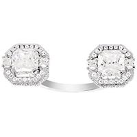 Открытое кольцо APM Monaco Art Deco с камнями из циркония, фото