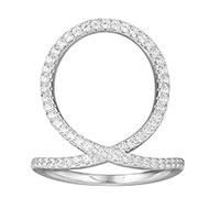 Кольцо APM Monaco Fashion в форме петли, фото