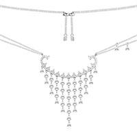 Ожерелье APM Monaco Glamour с камнями циркония, фото
