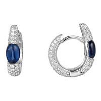 Серьги-кольца APM Monaco BonBon с камнями, фото