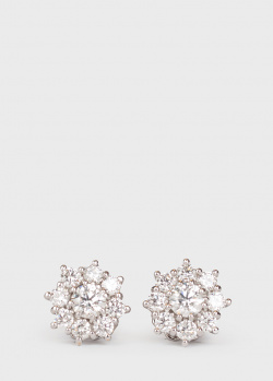 Бриллиантовые серьги Mirco Visconti в виде цветка, фото