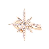 Кольцо Misis Stella с цирконами, фото