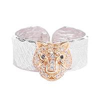 Открытое кольцо Misis Sumatra с цирконами, фото