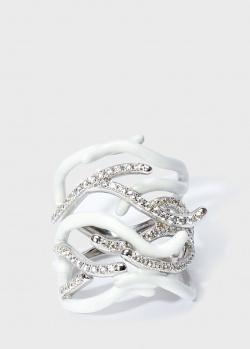 Двойное кольцо Misis Море с кубическим цирконием, фото