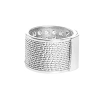 Широкое кольцо Fraboso из серебра, фото