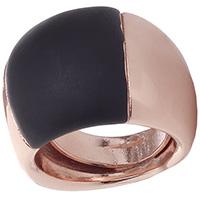 Широкое кольцо Marcello Pane Rubber с вставкой, фото