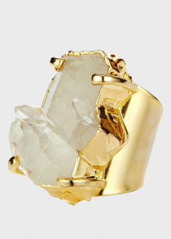Крупное кольцо Crystal Haze Athena с кварцем, фото