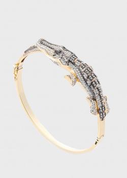 Женский браслет Оникс Крокодил, фото