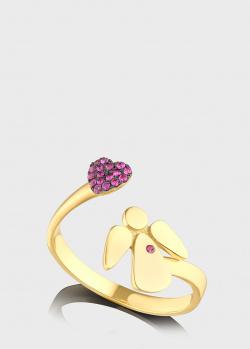 Кольцо Art Vivace Jewelry Bу my angel с рубинами, фото