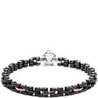 Браслет Baraka черного цвета с бриллиантами, фото