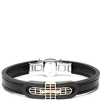 Мужской браслет Baraka Cage черного цвета, фото