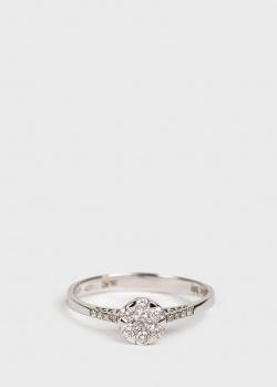 Кольцо из белого золота Ponte Vecchio с бриллиантами, фото
