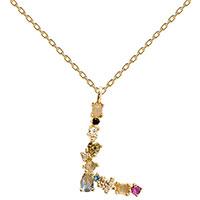 Позолоченное ожерелье P D Paola I AM с буквой, фото