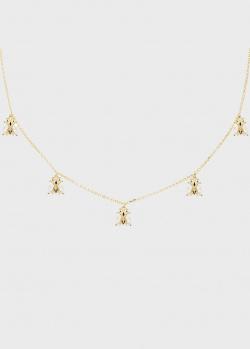 Позолоченное ожерелье P D Paola Zaza Nest, фото