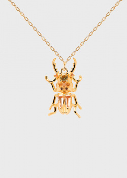 Цепочка с жуком P D Paola House Of Beetles Courage Beetle, фото
