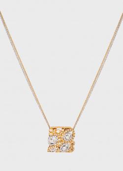 Цепочка с подвесом Ponte Vecchio из комбинированного золота с бриллиантами, фото