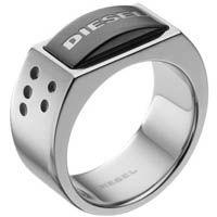 Кольцо DIESEL стальное мужское, фото