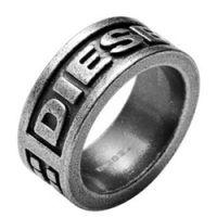 Кольцо DIESEL с матовой поверхностью мужское, фото
