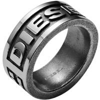 Кольцо DIESEL с глянцевой поверхностью мужское, фото