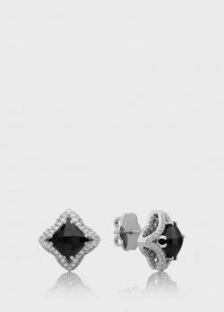Пусеты Art Vivace Jewelry Кружева с бриллиантами, фото