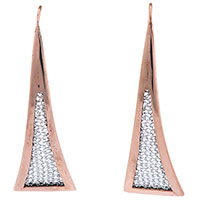 Серьги Adami & Martucci в виде треугольников, фото