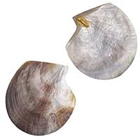 Крупные серьги rockah. Siren's Treasures из половинок натуральных раковин, фото
