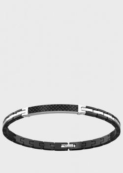 Мужской браслет Zancan Hi-Teck из углерода и стали, фото