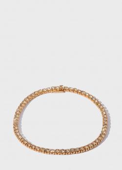 Золотой теннисный браслет Antonellis в бриллиантах (4,40ct), фото