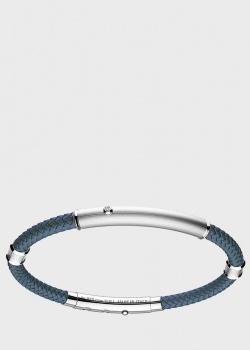 Кевларовый браслет Zancan Robikevlar с вставками из серебра, фото