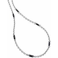 Цепочка из серебра Zancan Union с керамическими элементами, фото