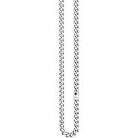 Широкая цепочка Zancan Cosmopolitan из полированного серебра, фото