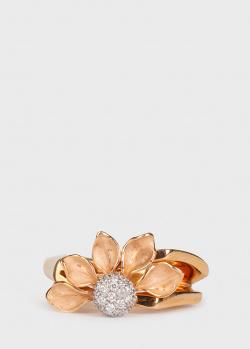Кольцо Annamaria Cammilli с цветком и бриллиантами, фото