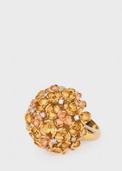Кольцо Annamaria Cammilli в желтом и розовом золоте, фото