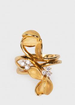 Кольцо Annamaria Cammilli из матового золота, фото