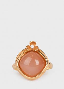 Кольцо Annamaria Cammilli с лунным камнем и бриллиантом, фото