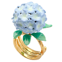 Сиреневое кольцо Good After Nine Bloom с гортензией, фото