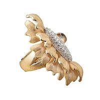Кольцо Annamaria Cammilli Solaris Diamond из золота с бриллиантами, фото
