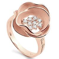 Кольцо Anna Maria Cammilli Tres Jolie из розового золота, фото