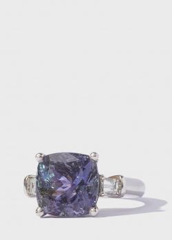 Перстень Gemmis с танзанитом 6,7ct и бриллиантами, фото