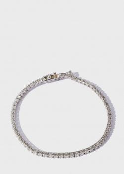 Теннисный браслет из белого золота Gemmis с бриллиантами 3,5ct, фото