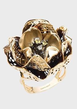 Кольцо Roberto Bravo Gallica Colors-N с сапфирами и бриллиантами, фото