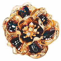Кулон Roberto Bravo Gallica Colors с цветком, фото