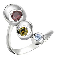 Серебряное кольцо 935 by Roberto Bravo с кварцем, фото