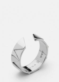 Широкое кольцо Skultuna Get The Gallop с геометрическим узором, фото