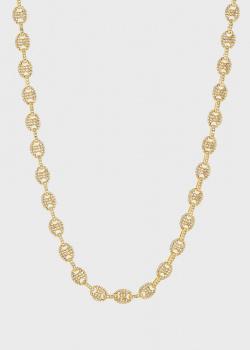 Позолоченное ожерелье Luv Aj Pave Mariner, фото