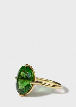 Перстень Gemmis с крупным молдавитом, фото